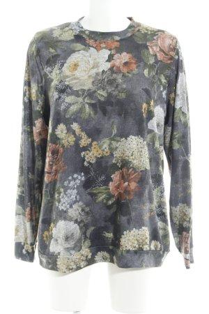 asos curve Kraagloze sweater bloemen patroon casual uitstraling