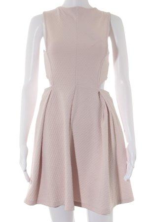 Asos Vestido cut out rosa empolvado estilo fiesta