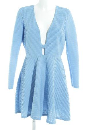 Asos Cut-Out-Kleid kornblumenblau Elegant