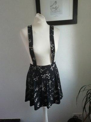 Asos Petite Skater Skirt black-natural white