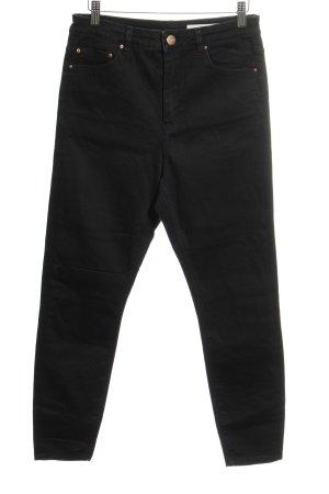 Asos Denim 7/8 Jeans schwarz Casual-Look