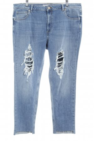 Asos Denim Biker Jeans azure distressed style