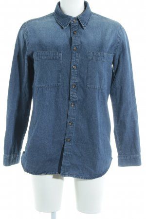 Asos Denim Hemd-Bluse blau Casual-Look