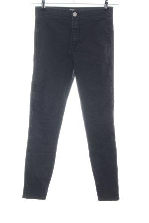 Asos Denim Jeans a vita alta nero stile casual