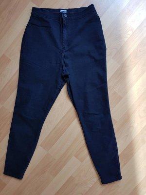 Asos High Waist Jeans black