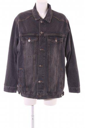 Asos Denim Denim Jacket anthracite casual look