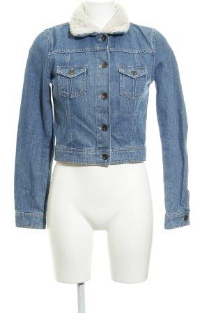 Asos Denim Denim Jacket steel blue casual look