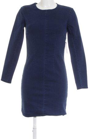 Asos Denim Jeansjurk donkerblauw simpele stijl