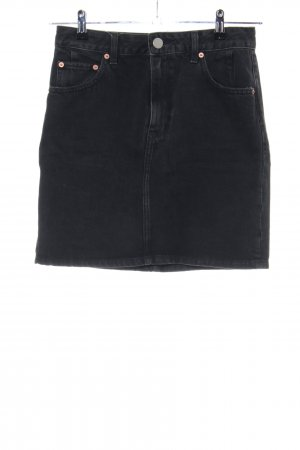 Asos Denim Jeansrock schwarz Casual-Look