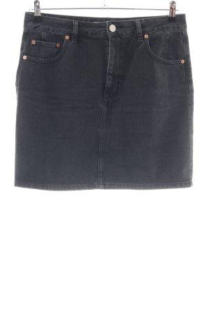 Asos Denim Denim Skirt black casual look
