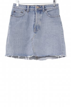 Asos Denim Jeansrock hellblau Beach-Look