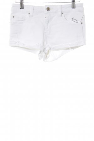 Asos Denim Jeansshorts weiß Street-Fashion-Look