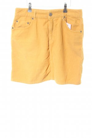 Asos Denim Minirock hellorange Casual-Look