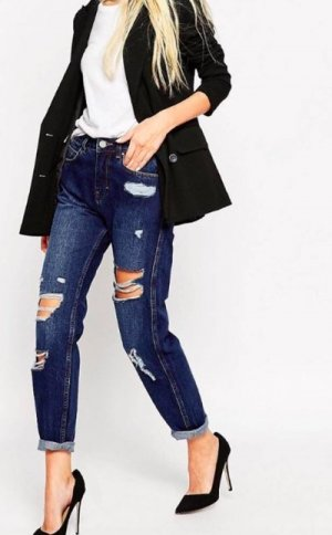 Asos Denim Mom Jeans 28 36 38 ungetragen