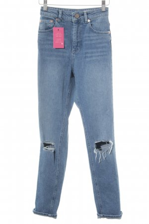 Asos Denim Tube Jeans steel blue casual look