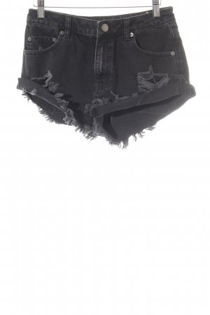 Asos Denim Shorts nero stile casual