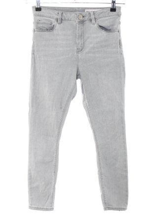 Asos Denim Jeans skinny gris clair style décontracté