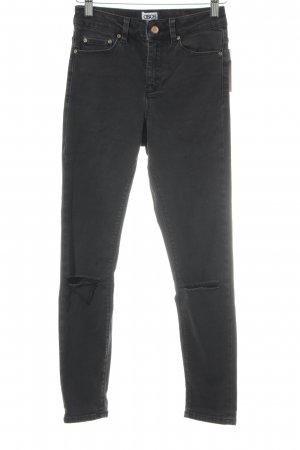 Asos Denim Skinny Jeans anthrazit Casual-Look
