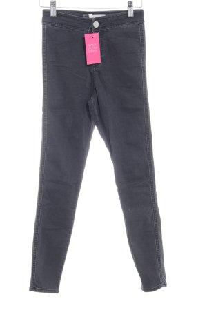 Asos Denim Skinny Jeans dunkelgrau Casual-Look