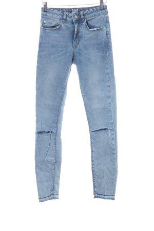 Asos Denim Skinny Jeans Farbverlauf Casual-Look