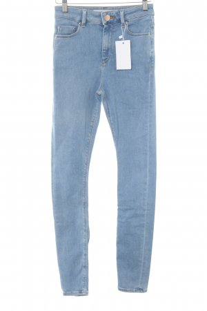 Asos Denim Skinny Jeans cornflower blue casual look