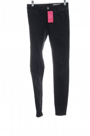 Asos Denim Skinny Jeans schwarz Casual-Look