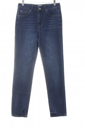 Asos Denim Stretch Jeans dunkelblau Jeans-Optik