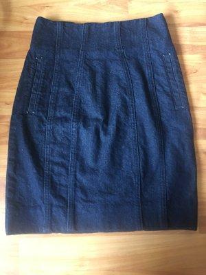 Asos design Jeansrock in Indigoblau mit zeitnahe und koraettdesign in 32 einmal getragen