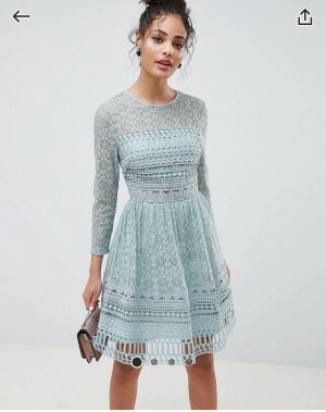 Asos Cocktail Dress multicolored