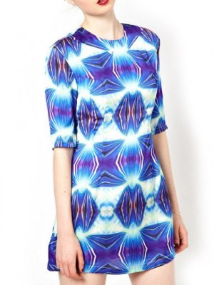 Asos Digital Print Dress