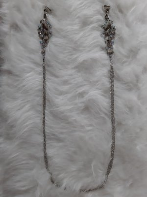 Asos Statement Necklace silver-colored