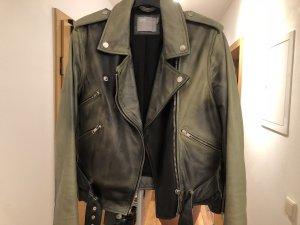 Asos Bikerjack zwart-khaki