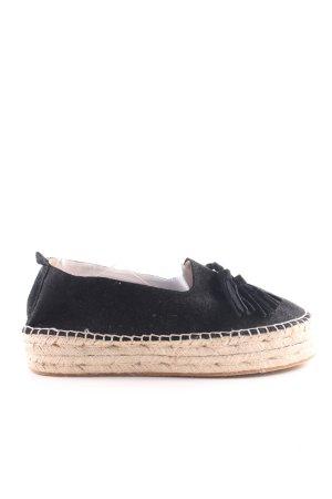 Asos Espadrille Sandals black simple style