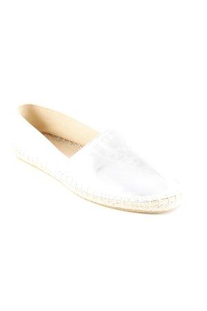 Asos Espadrille sandalen zilver casual uitstraling
