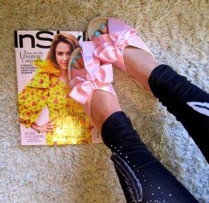 Asos Espadrille sandalen nude-roze Textielvezel