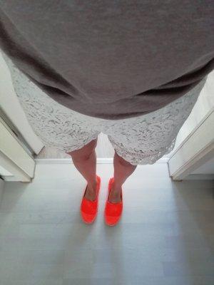 Asos Chaussures basses orange fluo