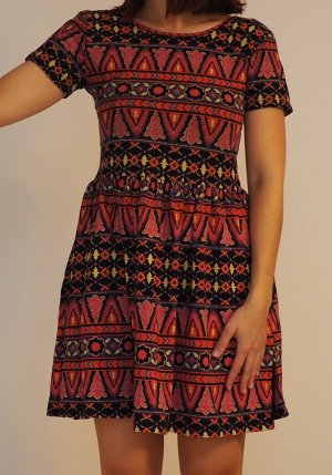Asos / Ethno Kleid mit Rückenausschnitt