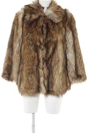 Asos Fur Jacket animal pattern extravagant style