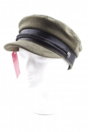 Asos Filzhut dunkelgrün-schwarz Street-Fashion-Look