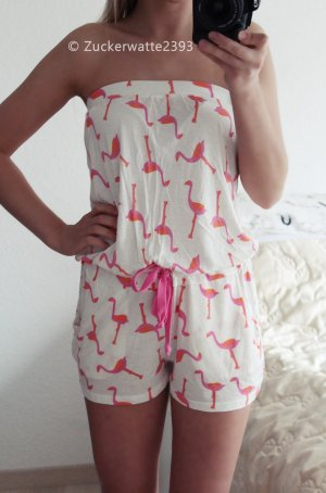Asos Flamingo Jumpsuit 34/XS
