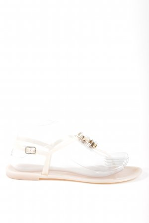 Asos Flip-Flop Sandals natural white casual look