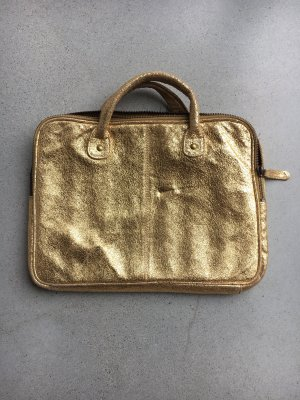 Asos Funda para portátil color oro