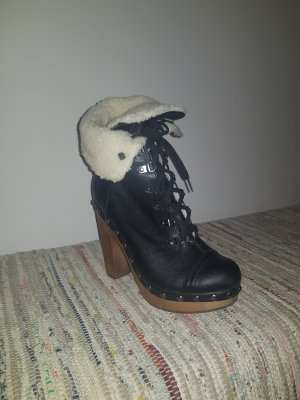 Asos Winter boots wit-zwart
