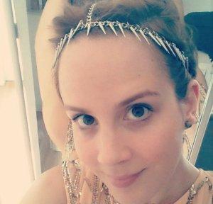 Asos Haarband Haarschmuck Spikes Nieten Studs Stacheln