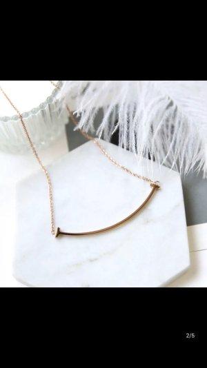 ASOS Halskette Rosen Gold Dezent Fashion Schmuck Damen Geschenk NEU