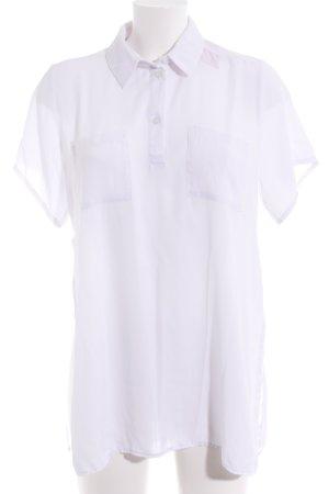 Asos Hemd-Bluse weiß schlichter Stil
