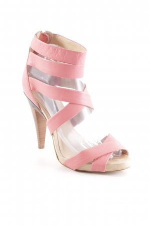 Asos High Heel Sandaletten lachs Casual-Look