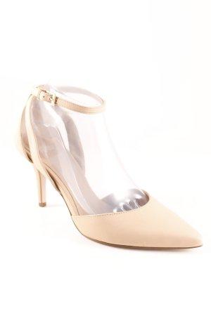 Asos High Heel Sandaletten nude Elegant