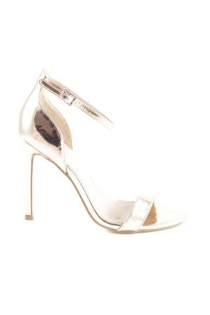 Asos High Heel Sandaletten roségoldfarben Elegant