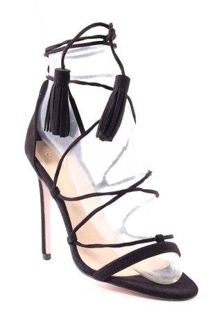 Asos High Heel Sandaletten schwarz Elegant